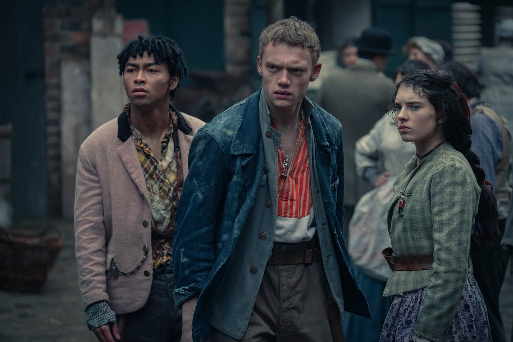 'Ferajna z Baker Street', serial Netflixa. Dwa odcinki wyreżyserowała w nim Weronika Tofilska