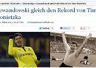 Bundesliga. Lewandowski wyrównał prawie 50-letni klubowy rekord