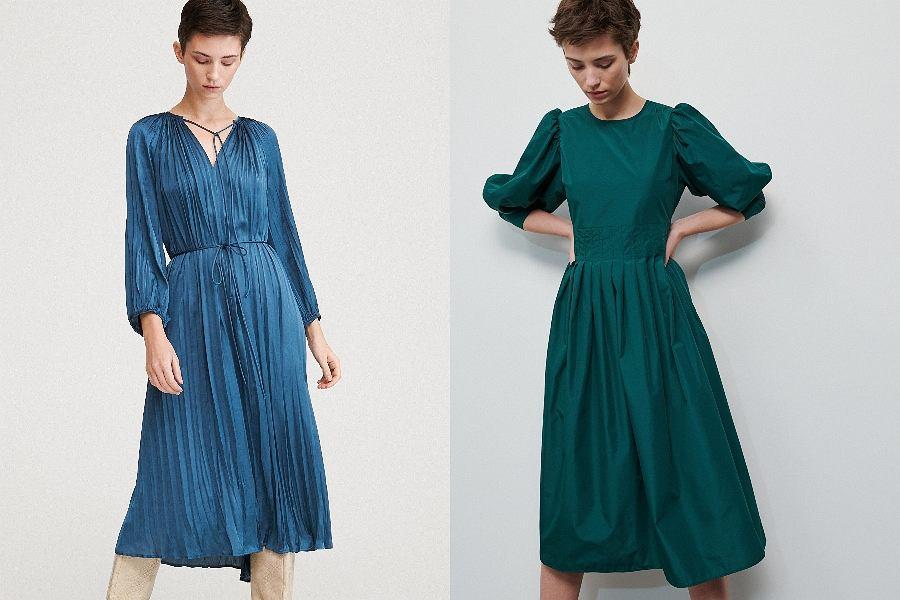 turkusowe sukienki