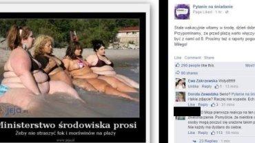 """Post na Facebooku """"PnŚ"""""""