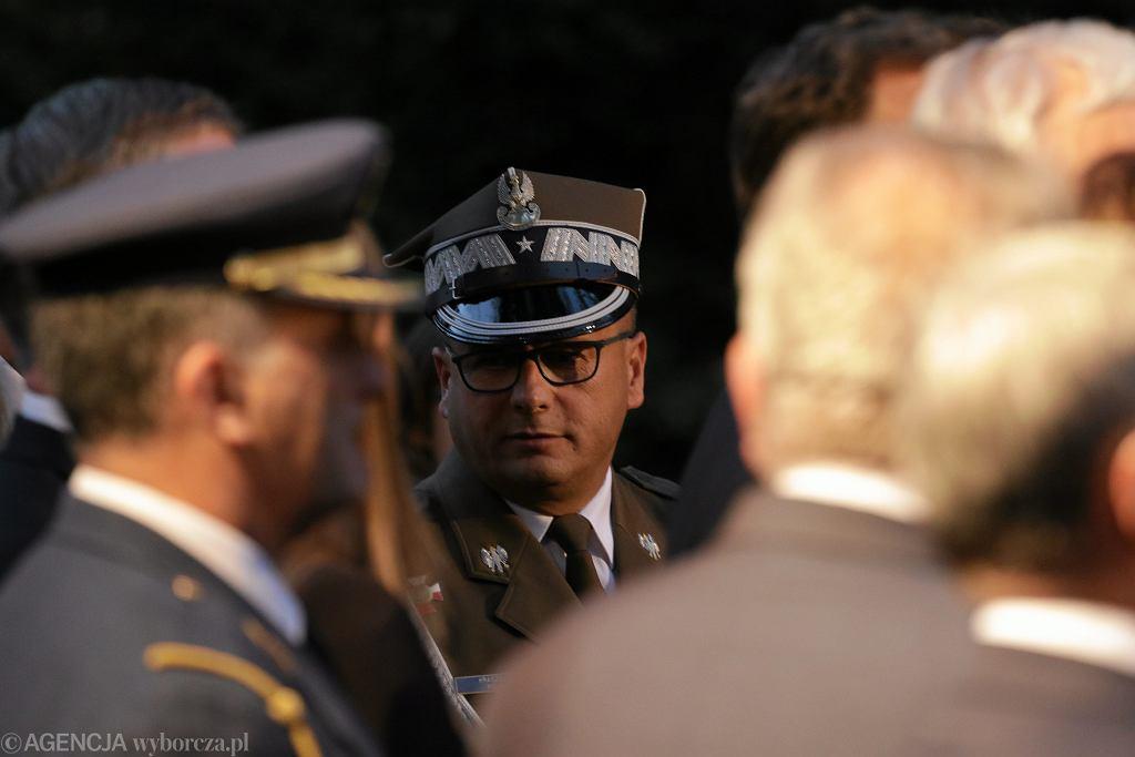 Gen. Jarosław Kraszewski na Powązkach