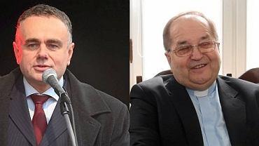 Tomasz Sakiewicz i Tadeusz Rydzyk