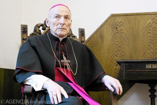 Zygmunt Kamiński. Arcybiskup metropolita szczecińsko-kamieński (1999-2009), zmarł 2010
