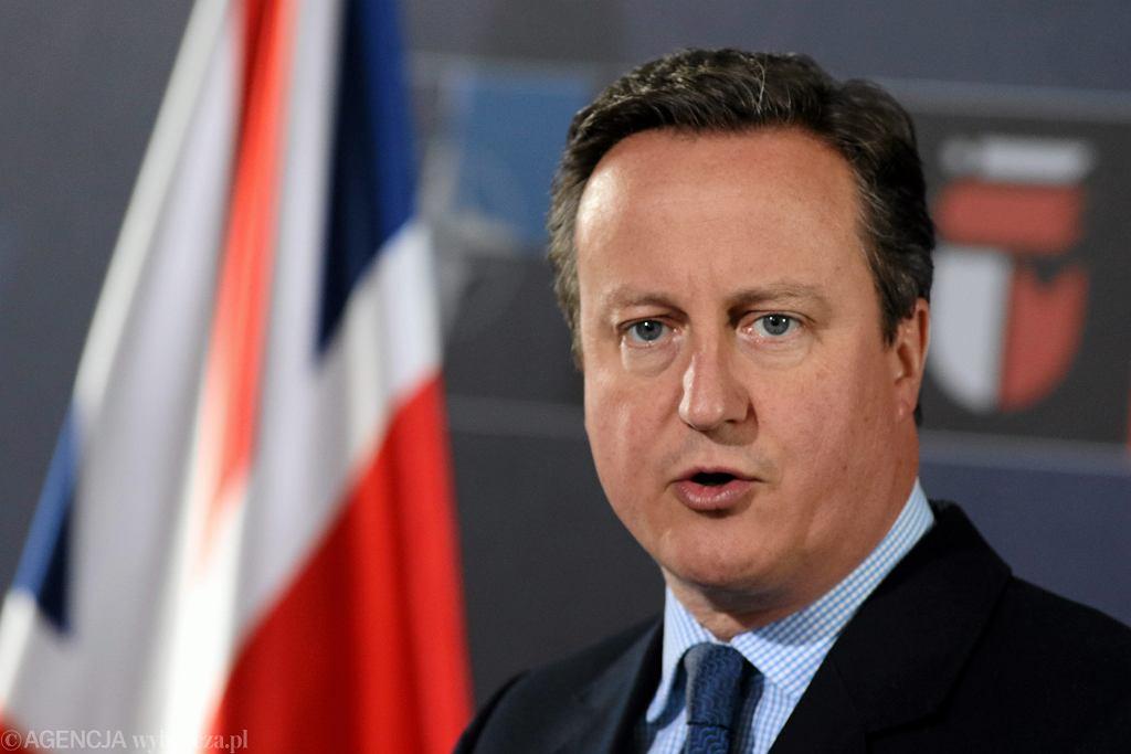 David Cameron, były premier Wielkiej Brytanii