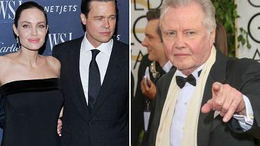 Angelina Jolie, Brad Pitt, Jon Voight
