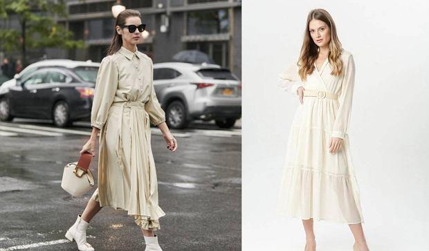 Długie białe sukienki na lato