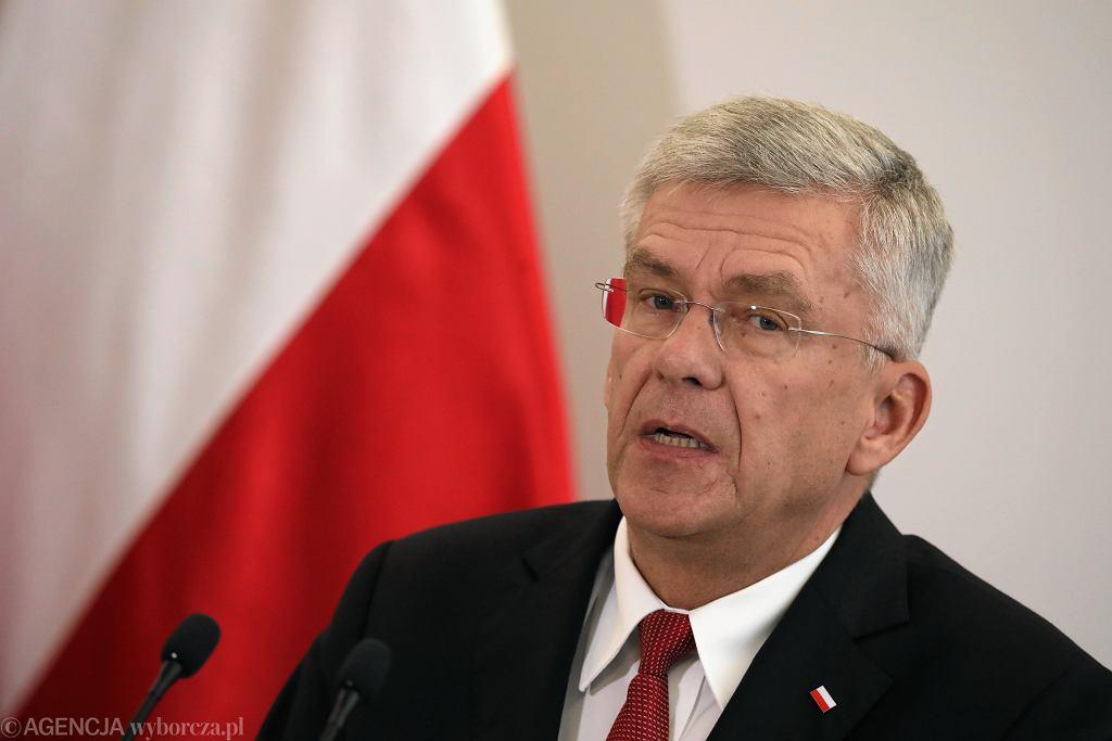 Stanisław Karczewski: Adam Bodnar powinien dla świętego spokoju podać się wreszcie do dymisji