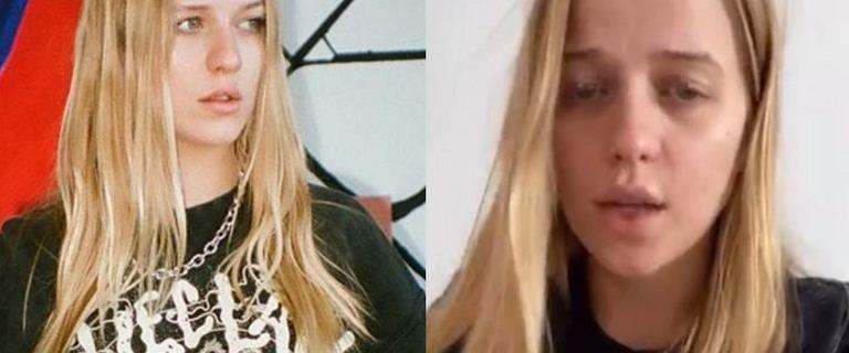 """Smutna Jessica Mercedes bez makijażu przeprasza swoich fanów za aferę metkową. """"Może się do tego nie nadaję?"""""""