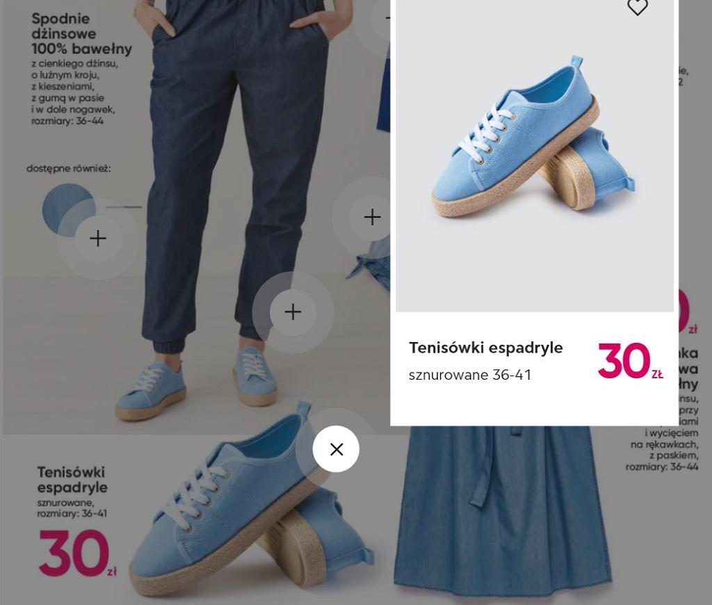 Pepco sprzedaje modne trampki za 30 zł