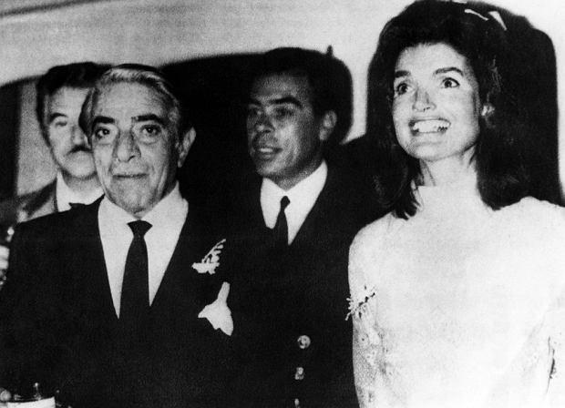 Arystoteles Onassis,Jacqueline Kennedy, ślub, 20.10 1968