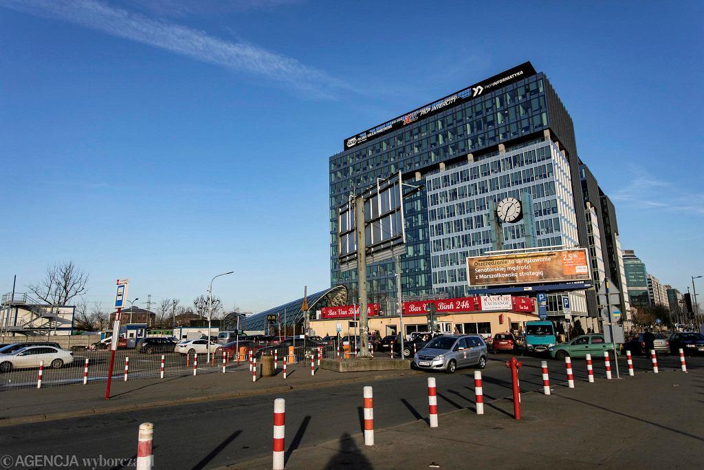 Dworzec zachodni w Warszawie