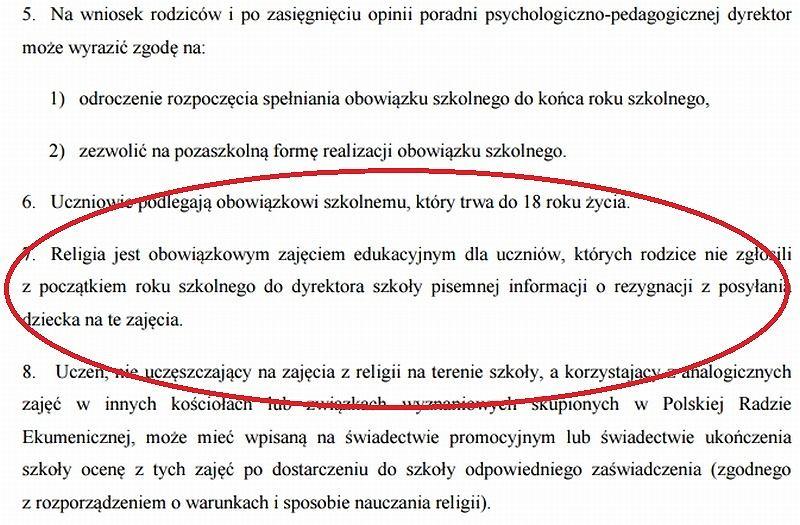 Fragment statutu SP nr 30