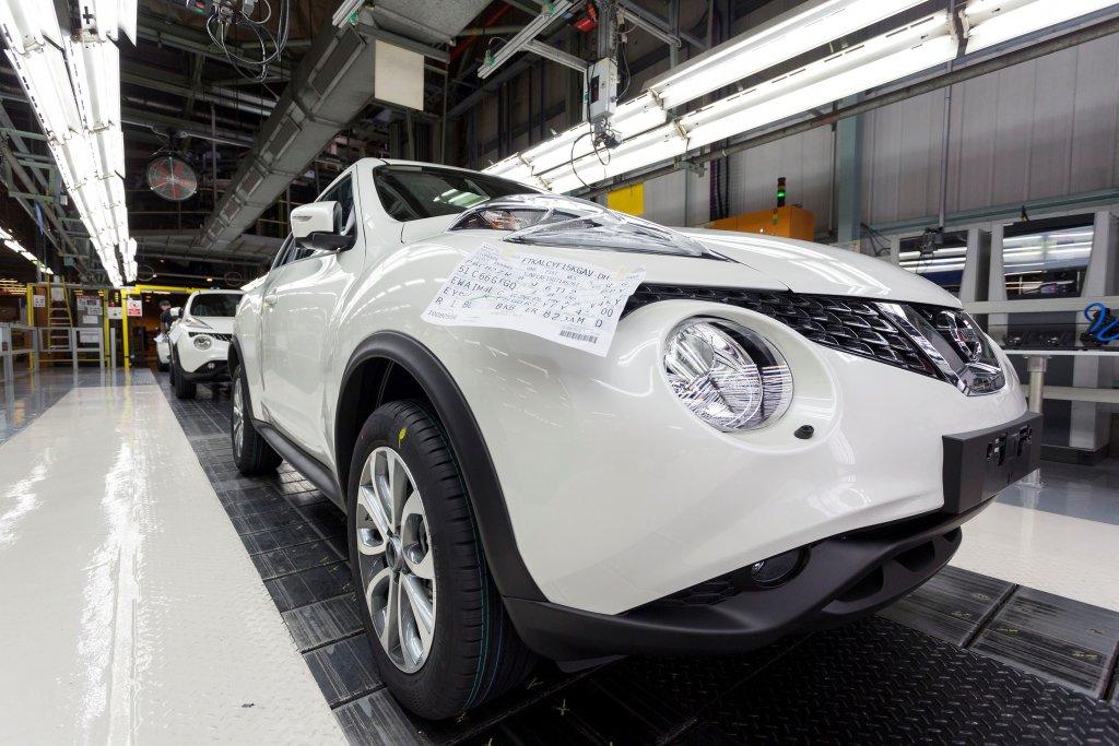 Produkcja Nissana Juke w Sunderland