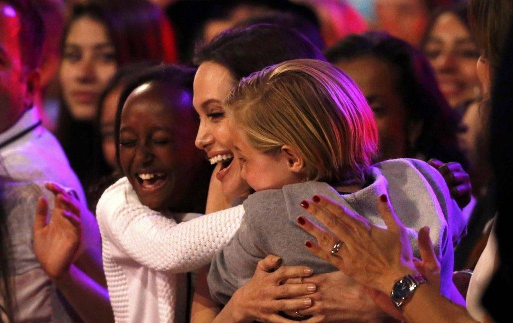 Angelina Jolie z córkami