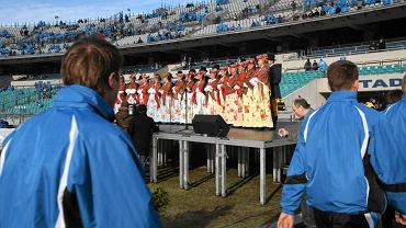 Przed WDŚ na Stadionie Śląski w 2009 roku