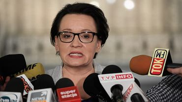 Minister edukacji PiS Anna Zalewska