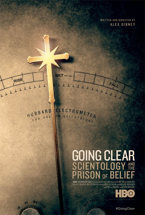 Going Clear, plakat