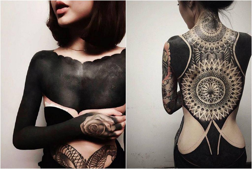Blackout tattoo