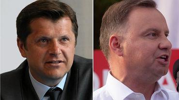 Cezary Kucharski i Andrzej Duda