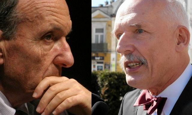 Daniel Passent, Janusz Korwin-Mikke