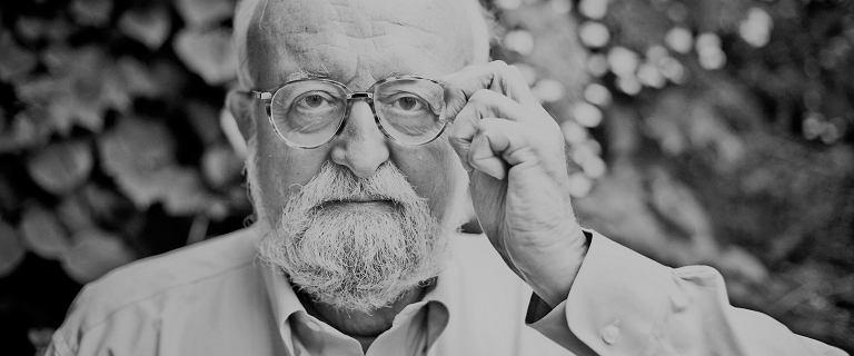 Nie żyje Krzysztof Penderecki. Światowej sławy kompozytor i dyrygent miał 86 lat