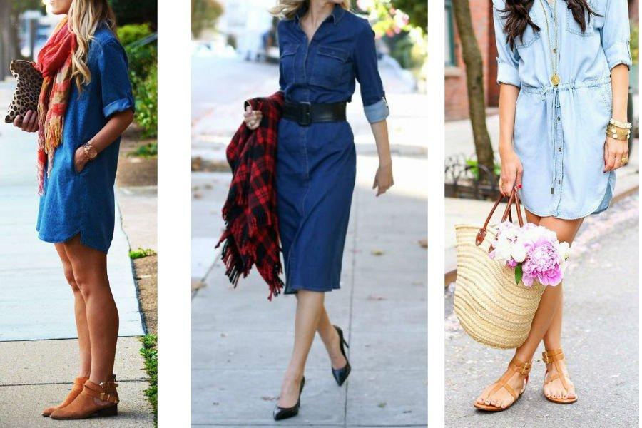 Jak Nosic Jeansowa Sukienke Modne Stylizacje Na Sezon Wiosna Lato