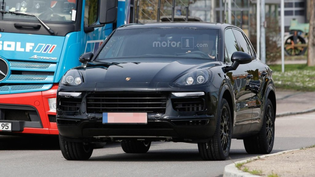 Prototyp nowego Porsche Cayenne