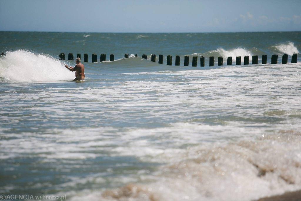 Chałupy. Plaża w Chałupach