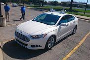 Autonomiczny Ford Fusion/Mondeo