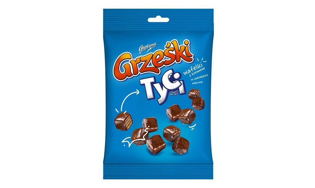Nowe mini wafelki do dzielenia się - Grześki Tyci w czekoladzie mlecznej!