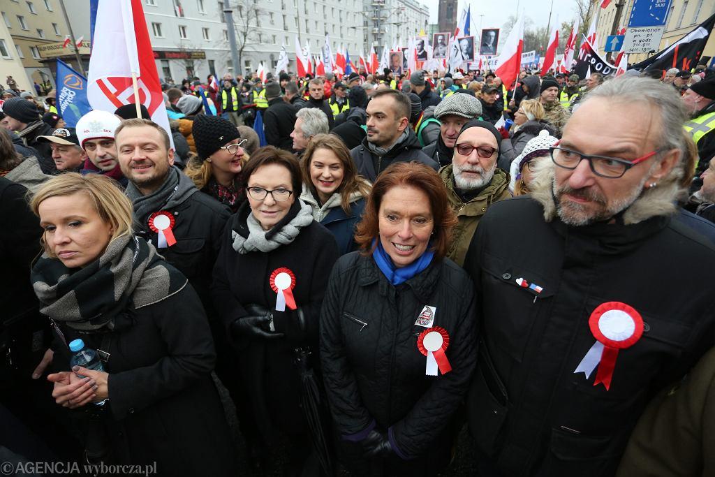 Mateusz Kijowski, Ewa Kopacz, Małgorzata Kidawa-Błońska
