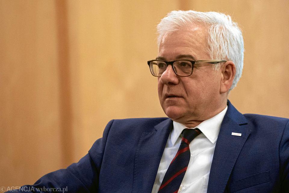 Minister spraw zagranicznych Jacek Czaputowicz.