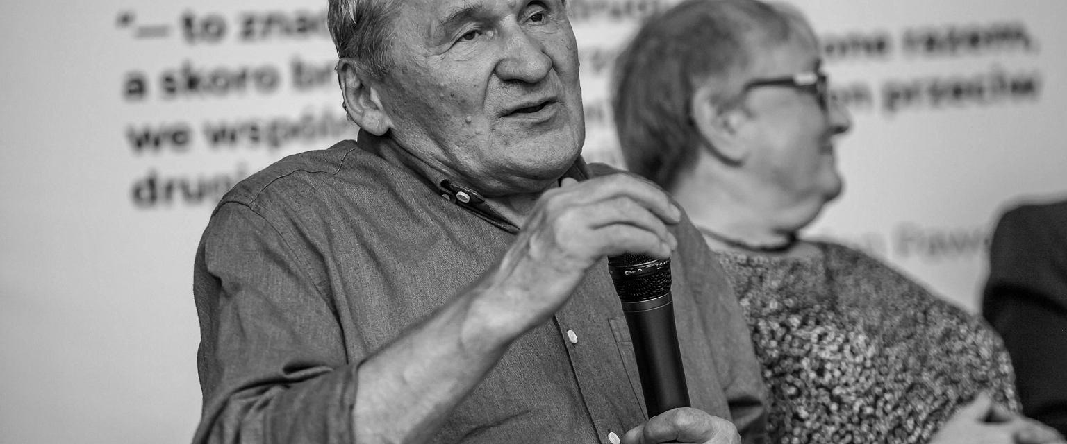 """Legenda """"Solidarności"""" i działacz KOR miał 79 lat. """"Przedobry człowiek, uczciwy do bólu"""""""