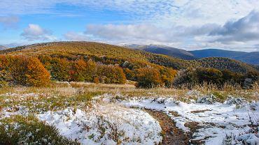 Jesienią w Bieszczadach potrafi być naprawdę pięknie.