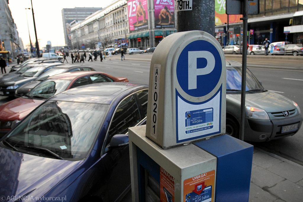 Darmowy parking dla samochodów elektrycznych