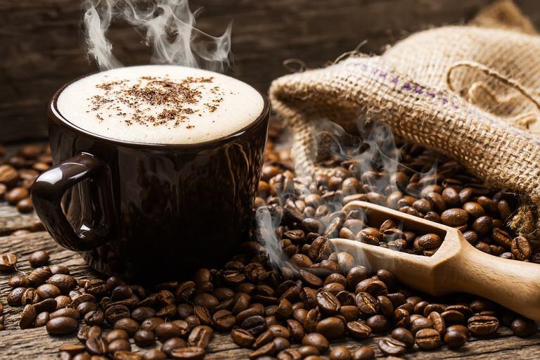 Kawa świeżo mielona