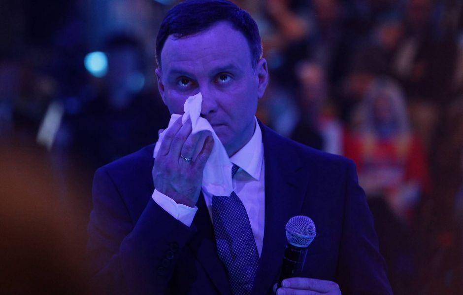 Andrzej Duda na jednej z konwencji