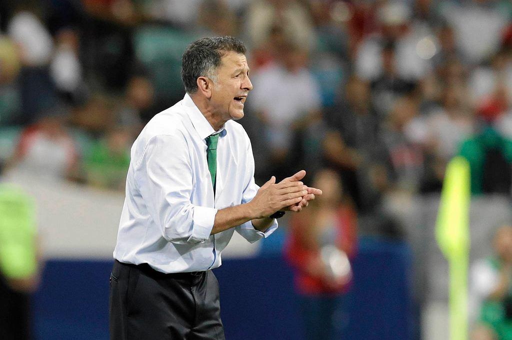 Trener reprezentacji Meksyku Juan Carlos Osorio
