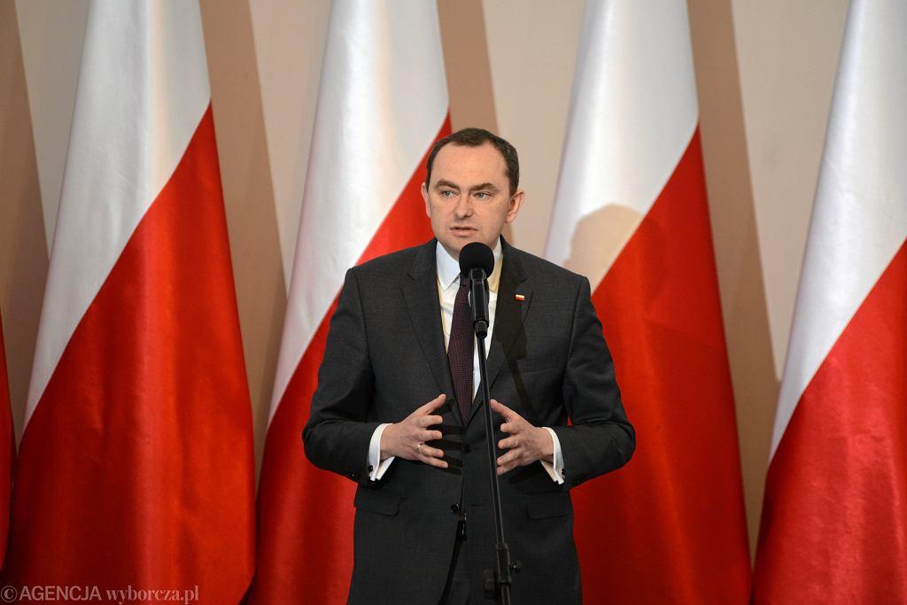 Sekretarz stanu w kancelarii prezydenta minister Adam Kwiatkowski