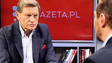 Leszek Balcerowicz w rozmowie z Gazeta.pl
