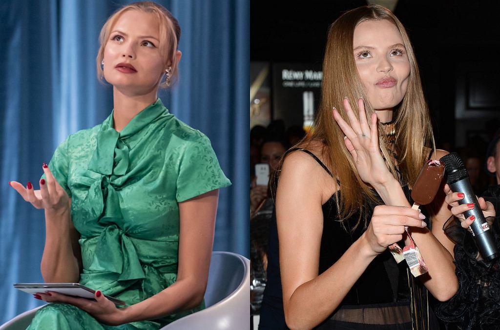 'Top model': Magdalena Frąckowiak