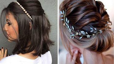 fryzury na studniówkę dla długich i krótkich włosów