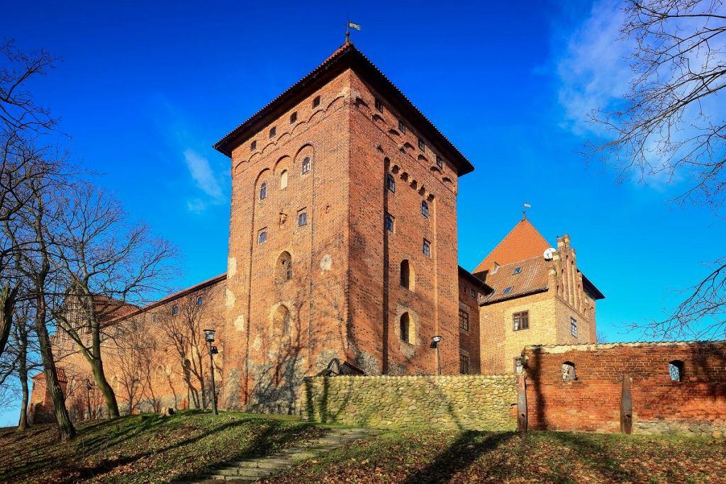 Nidzica - Gotycki zamek krzyżacki
