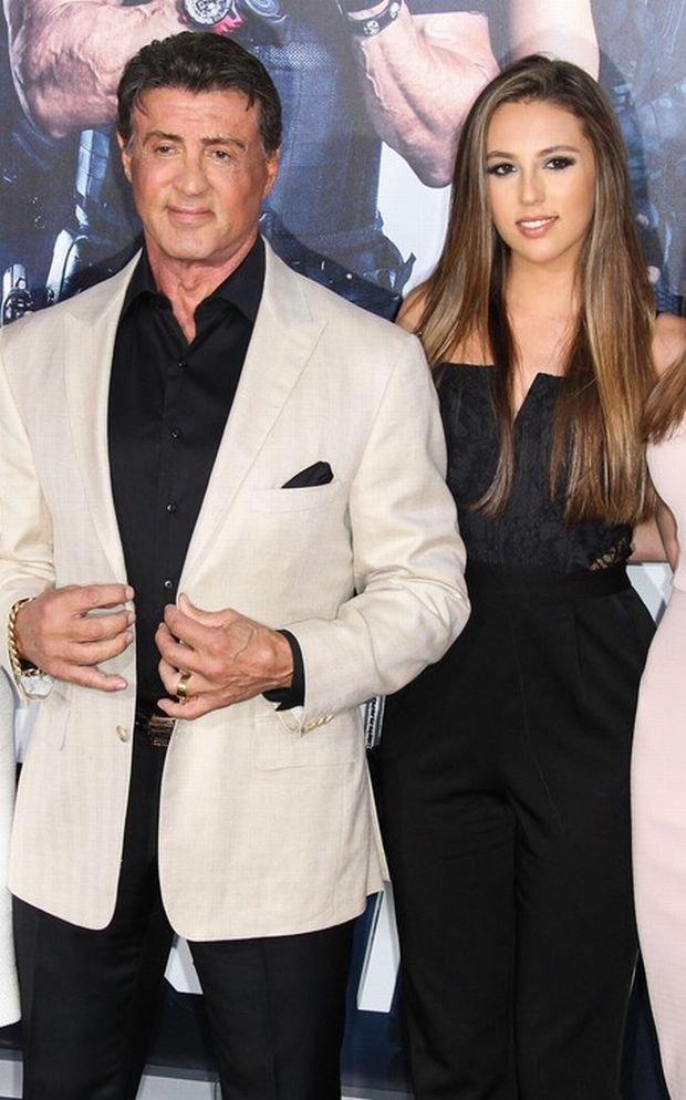 Sylvester Stallone, Sophia Rose Stallone