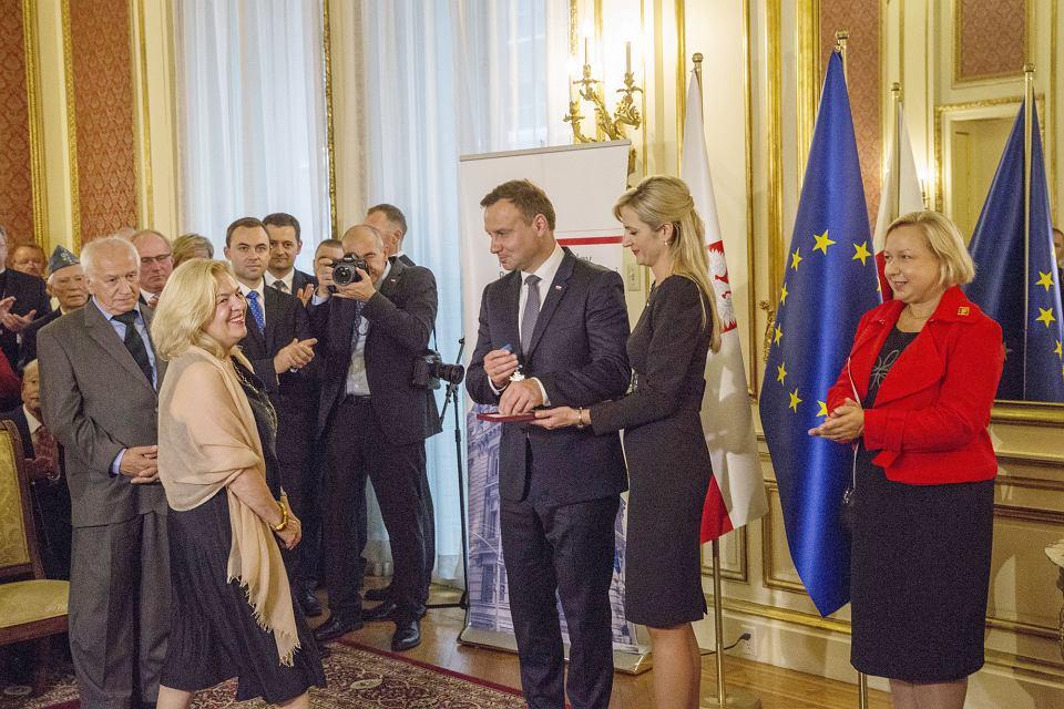Spotkanie prezydenta Andrzeja Dudy z Polonią w konsulacie RP w Nowym Jorku, 29 września 2015 r.