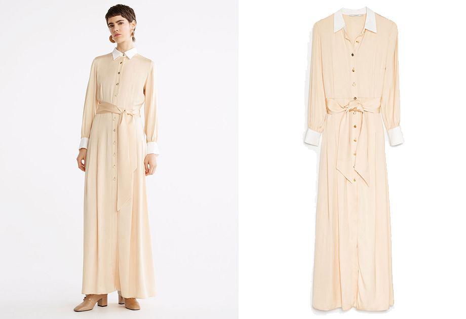 Sukienka Uterque w stylu Mary Poppins