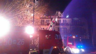 Nocna akcja strażaków na Wóycickiego