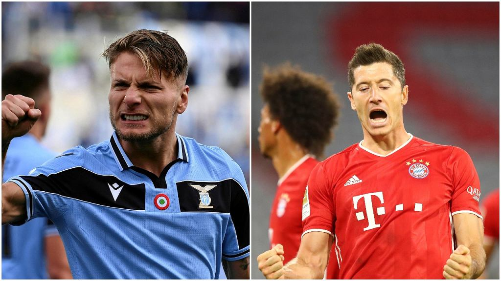 Ciro Immobile i Robert Lewandowski