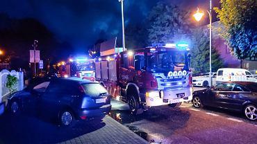 Pożar przyczepy kempingowej we Władysławowie