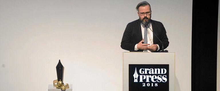 Nagrody Grand Press 2018: Bertold Kittel Dziennikarzem Roku